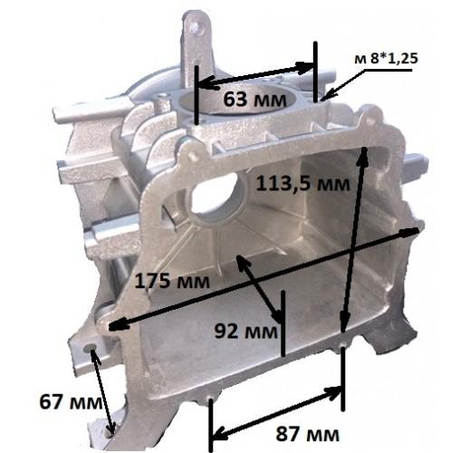 Картер для компрессора  175 х 113