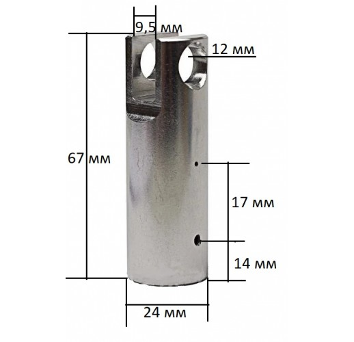 Гильза (цилиндр) для Китайских перфораторов 67 мм